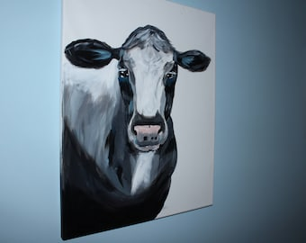 Cow Painting - Acrylic Painting