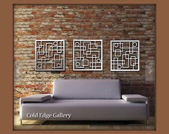 Contemporary Wall Art Metal Uk