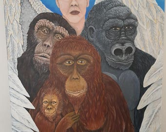 "Conservation Original Painting - ""Just Like Us"""