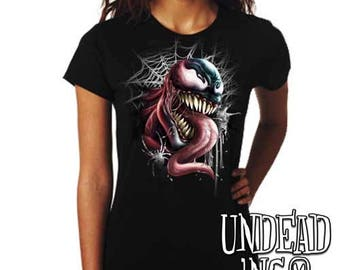 Marvel Comics Spider Man Venom - Ladies T Shirt