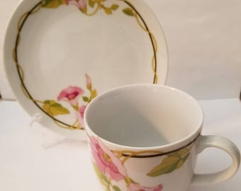 Portsmouth Cup and Bread & Butter Plate by Toscany