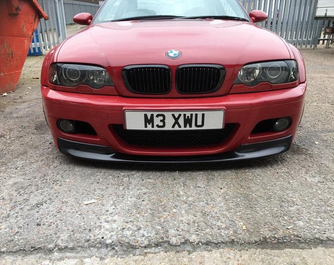 BMW E46 M3  M-sport Front Chin Lip Splittler Spoiler