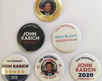 John Kasich 2020 Presidential Hopeful Set of 6 (KASICH-ALL)