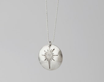 Sterling Silver Pendant and Sterling Silver Chain