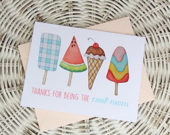 Mother's Day Notecard - Cool Mom