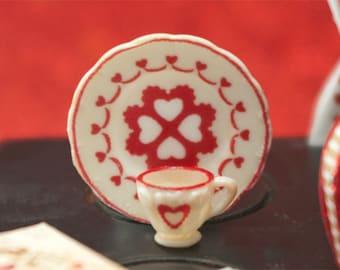 Miniature Heart Dishes Kit