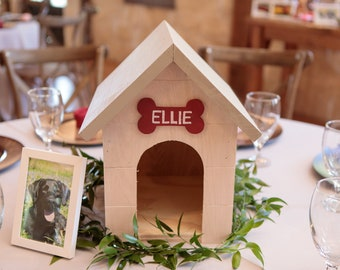 Personalized Rustic Dog House