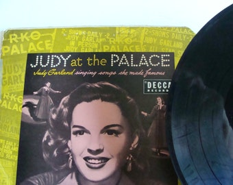 Judy Garland record singing songs she made famous Decca 33 1/3