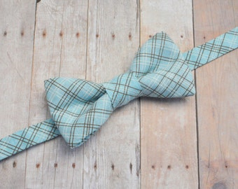 Plaid Bow Tie, Toddler Bow Tie, Baby Bow Tie, Boys Bow Tie, Suit Tie, Wedding Bow Tie, Kids Bow Tie, Bow Tie, Bowtie, Ring Bearer Bow Tie