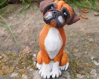 Miniature Sculpture - Boxer