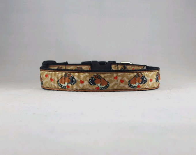 Featured listing image: Adjustable Boxer Dog Collar- Medium/Large