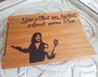 9x13 Princess Bride Cutting Board. Personalized, Mother's Day, Father's Day, Gift for her, Gift for him, Old school, 80's movies