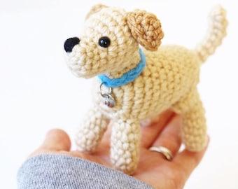 Daisy the Labrador - Yellow Labrador Retriever Plush - Yellow Lab Gift - Yellow Lab Puppy Keychain - Yellow Lab Puppy - Yellow Lab Keychain