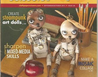 Cloth Paper Scissors magazine  Sept/Oct 2011