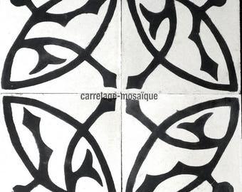 Cement Sedra white tiles