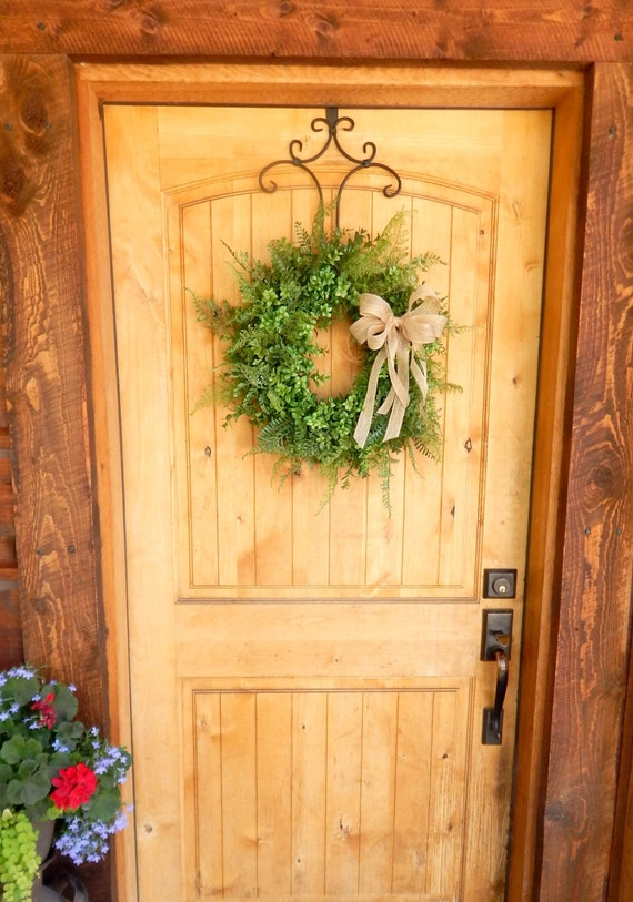 Boxwood Wreath Fern Wreath Summer Wreath Fall Wreath Outdoor