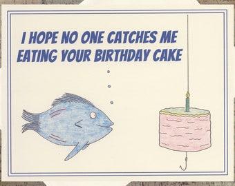Funny Birthday Card, Friend Birthday Card, Birthday Cake Card, Snarky Birthday Card, Birthday Card, Funny Note Card, Humor Card