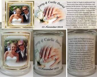 Wedding Memorial candles