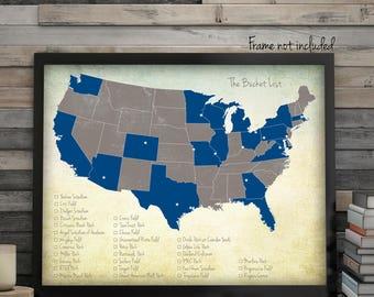 Major League Baseball Map, Minor League Baseball Map, Baseball Stadium Map, Baseball Map, Baseball Stadiums, Baseball Travels, Sport Maps