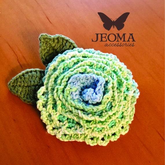 Crochet Flower Diagram Pattern From Jeoma On Etsy Studio