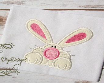 Adorable Bunny Applique Design