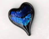 Black & Dichroic Glass He...