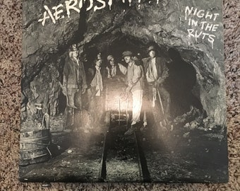 Vintage Aerosmith record