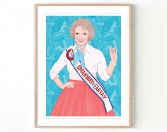 The Golden Girls Rose Nylund // Giclée Archival Matte Art Print
