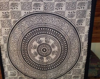 Beautiful Bohemian mandala tapestry