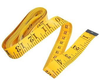 "GOELX Pack Of 1 X 1.5 Meter (60"" Inch) Sewing Tailor Measuring Ruler Tape"