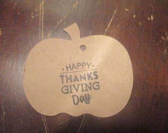 Thanksgiving Gift Tag