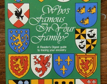 Vintage Book: Who's Famous in your Family? by Dr John Tanner 1983