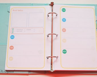 Pocket Scrapbooking Planner - A5 Sized