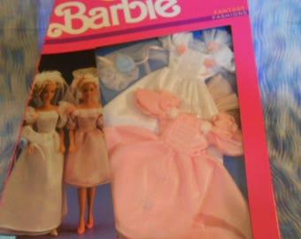 1989 Mattel Barbie Wedding Dress and Bridesmaid Dress-Sealed Box