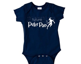 Future Peter Pan - Multiple Color Options Available - Trendy baby clothes - Neverland Onesie - Forever Young - Lost Boy - Hipster baby