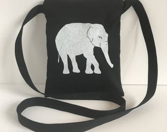 Elephant Passport Bag