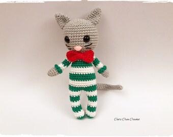 Amigurumi - blanket - James the cat