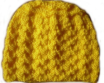 Yellow Hat 6-12 months
