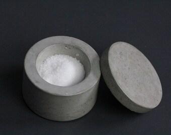 Concrete Salt Cellar