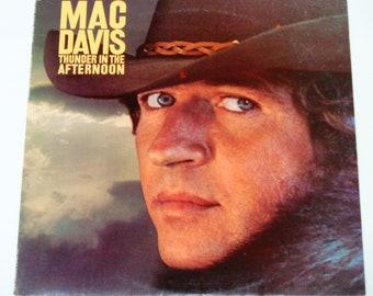 "Mac Davis - Thunder am Nachmittag - ""Bitte sanft sein"" - ""Jennifer Johnson"" - Land Pop - Columbia 1977 - Jahrgang Vinyl LP Schallplatte"