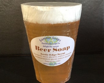 Beer Soap, 21st Birthday Gift, Beer Lover Gift, Gift For Men, Novelty Soap