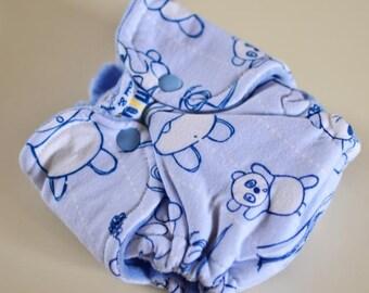 Newborn Fitted Cloth Diaper