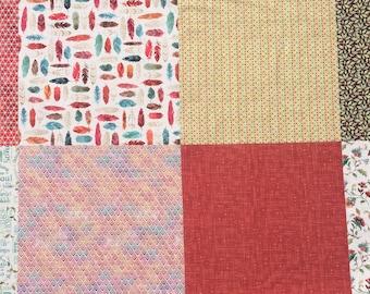 Multi designs Hoffman fabric