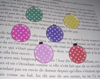 YOUR choice of Medallion - cabochon - dots