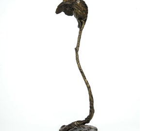 Bronze Kingfisher limited edition sculpture by Barry Sutton