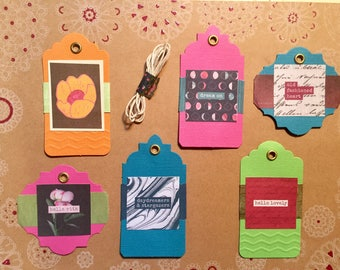 Hello Lovely Gift Tag Set of 6 (#1)
