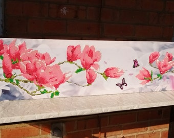Home Decor Flower Butterfly Mosaic Diamond Painting