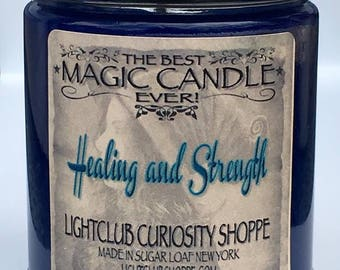 Spell Candle, Healing & Strength