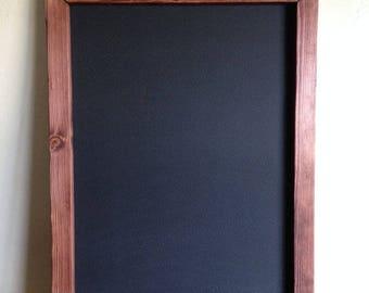 """Kitchen Chalkboard 18""""x24"""", Rustic Wedding Chalkboard, Large Chalkboard,  Menu Board, Kitchen Sign, Rustic Chalkboard, Pregnancy Chalkboard"""