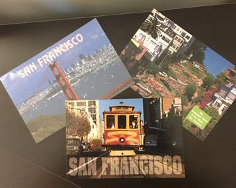 Vintage Postcards San Francisco (Lot of 3)